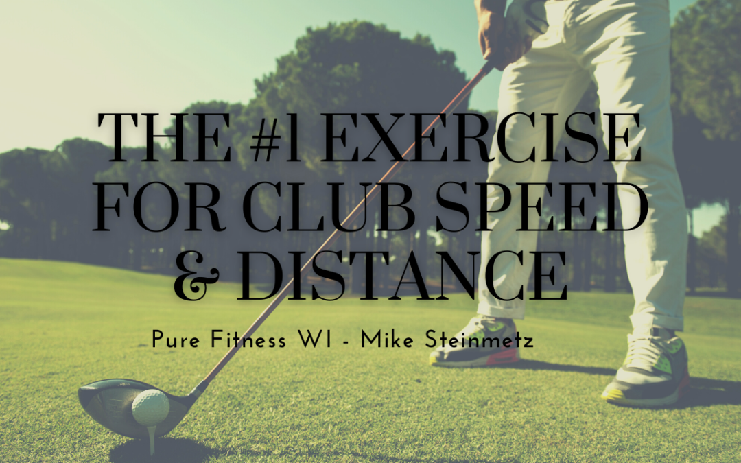 The Number 1 Exercise for Club Speed and Distance
