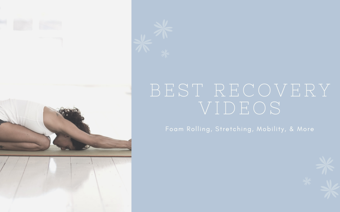 5 Favorite Recovery Videos