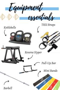 Equipment Essentials for a Home Gym