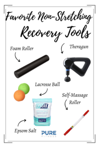 Tools for workout recovery