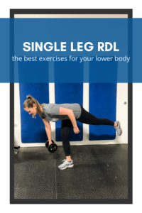 single leg rdl exercise