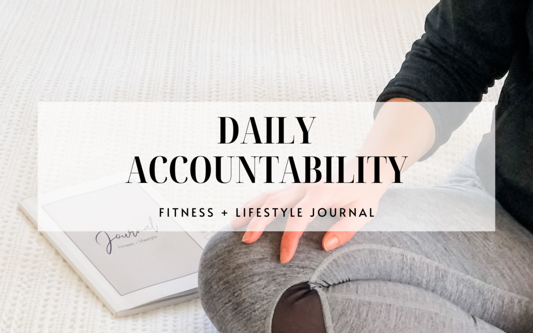 FITNESS AND LIFESTYLE JOURNAL