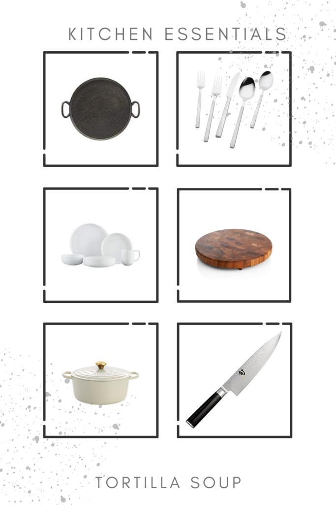 kitchen cooking essentials
