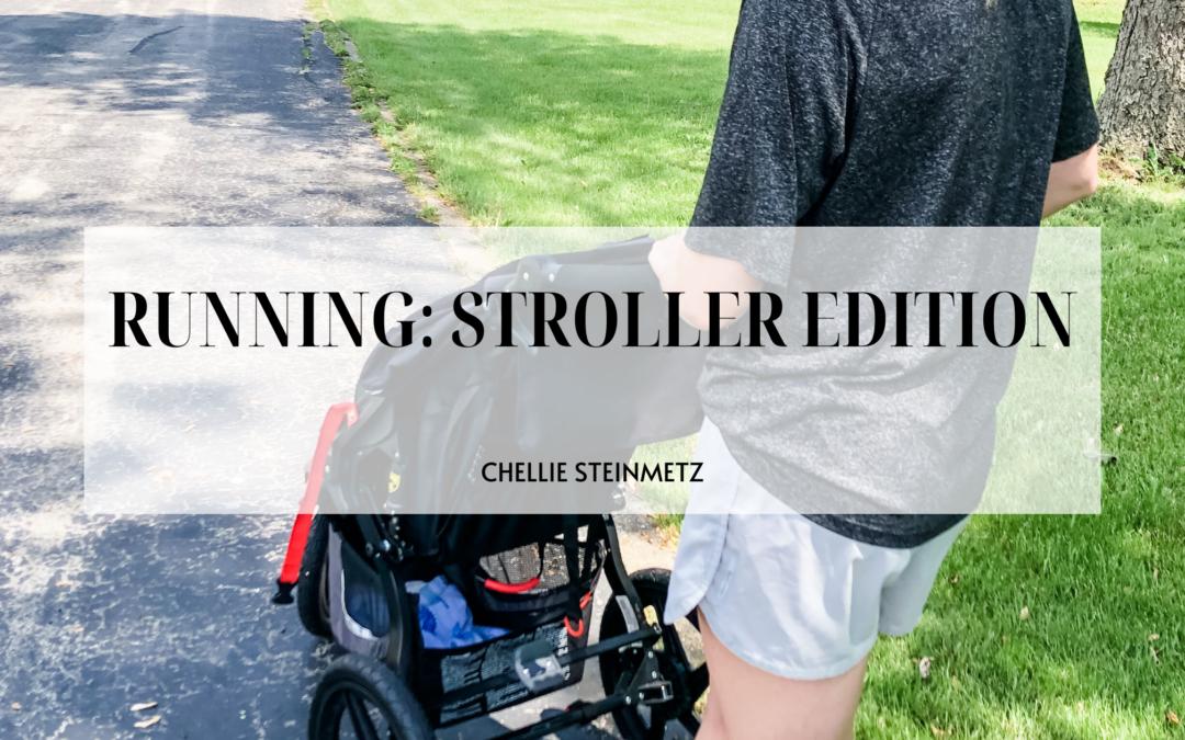 Stroller Running Must Haves for New Moms