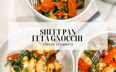 Sheet Pan Feta Gnocchi